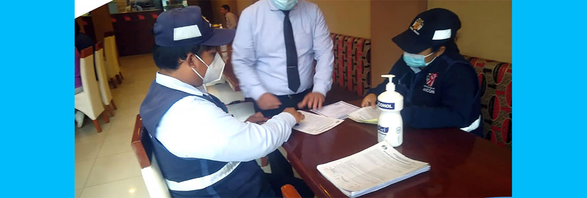 OPERATIVO DE CONTROL A LOCALES CON ATENCIÓN POR DELIVERY EN AV. J.C. MARIÁTEGUI