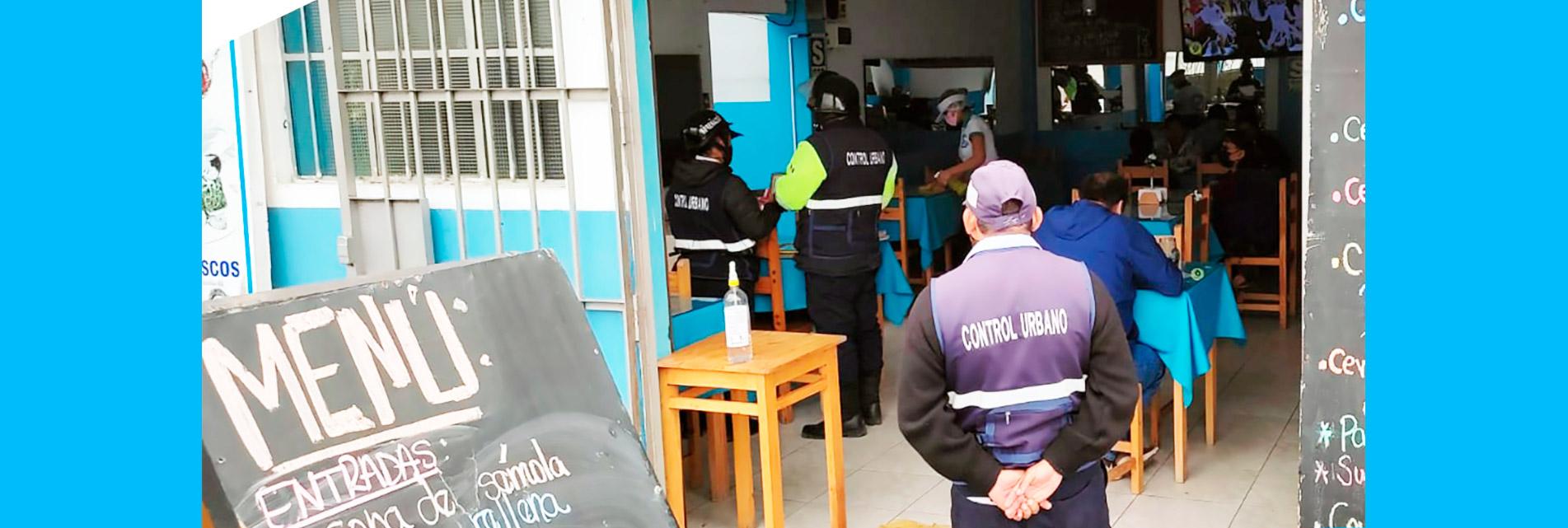 OPERATIVO DE CONTROL A ESTABLECIMIENTOS DEL KM. 39
