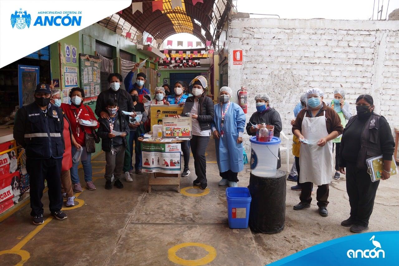 COMERCIANTES DEL MERCADO SAN JOSÉ FUERON CAPACITADOS EN BUENAS PRÁCTICAS DE BIOSEGURIDAD