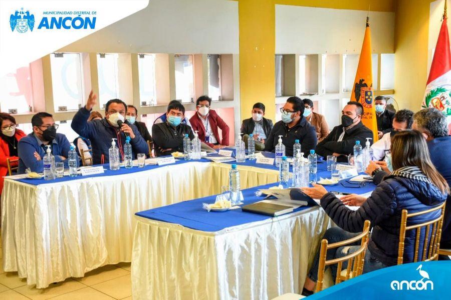 FUNCIONARIOS DEL GOBIERNO REGIONAL DE LIMA Y ALCALDES DE LIMA NORTE SE REUNIERON PARA GESTIONAR OBRAS